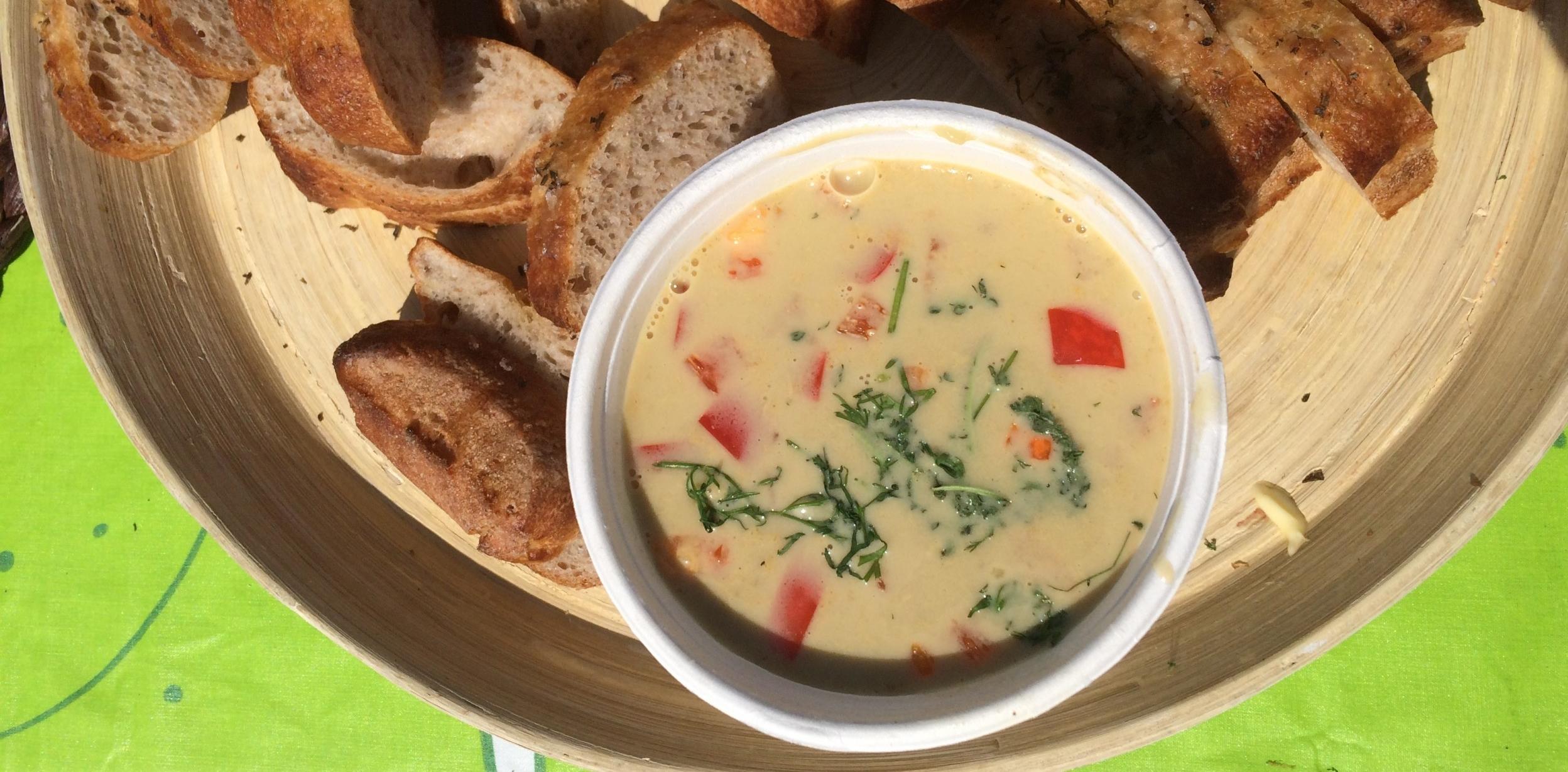 strandkrabber suppe