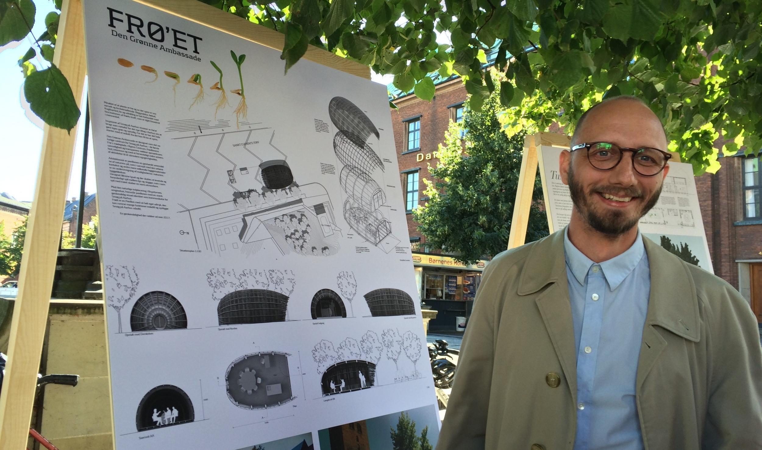 Steffen Impgaard - vinder af arkitektkonkurrence Den Grønne Ambassade