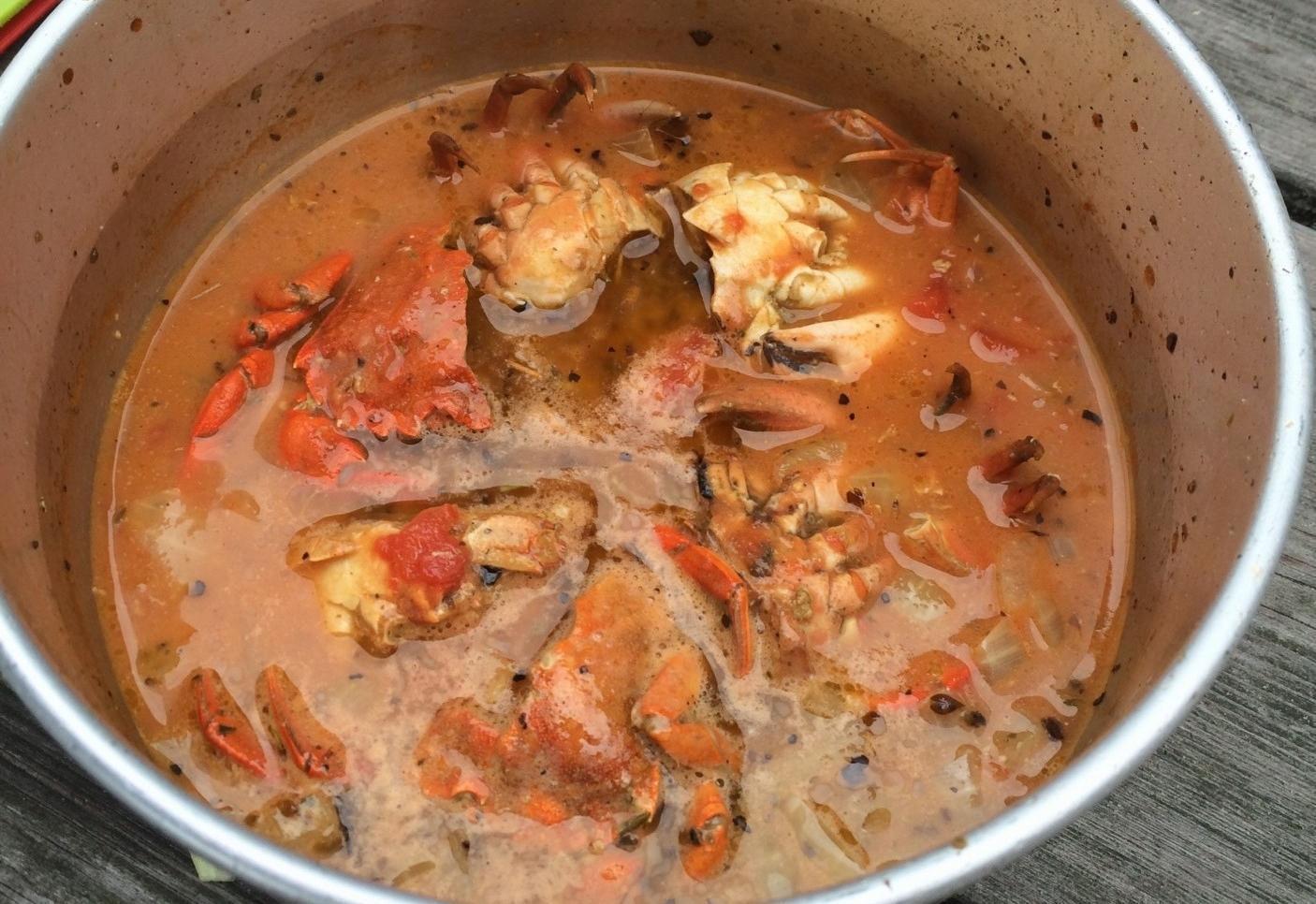 krabbesuppe